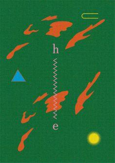 Tadashi Ueda — Are. Graphic Design Posters, Graphic Design Illustration, Graphic Design Inspiration, Graphic Prints, Typography Design, Lettering, Poster Prints, Layout Design, Design Art