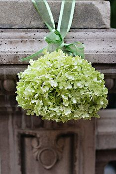 Wedding, Flowers, Green, Ceremony, Pomander