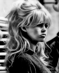 Blonde Hair Discover Brigitte Bardot Collection Poster by Marvin Blaine Brigitte Bardot Poster featuring the mixed media Brigitte Bardot Collection by Marvin Blaine Hair Inspo, Hair Inspiration, Grunge Hair, Wedding Hairstyles, 70s Hairstyles, Wedding Hair Bangs, Hairstyles With Side Bangs, Fringe Hairstyles, School Hairstyles