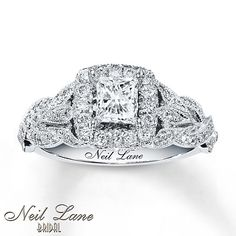 Neil Lane Bridal Ring 1 1/6 cts tw Diamonds 14K White Gold- Kay Jewelers