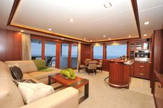 Nordhavn 120-Skylounge-Custom Yacht Interior Design-Destry Darr Designs