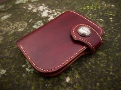 Westbound - Midlength Wallet Coin Pocket / Biker wallet via Texu Crafts. Click on the image to see more!