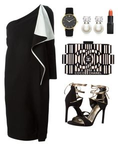 """""""My First Polyvore Outfit"""" by innaioana ❤ liked on Polyvore featuring Chloé, Chanel, Judith Jack, Larsson & Jennings, Barry M and Stuart Weitzman"""