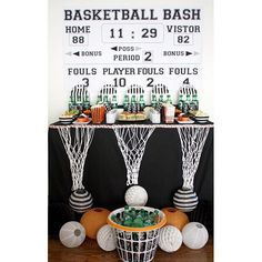"""@banner_events's photo: """"#MarchMadness is here! I'm in Las Vegas this week cheering on my favorite college team in the WCC Tournament. I love this #basketballparty set up by @bellagreydesigns !"""""""