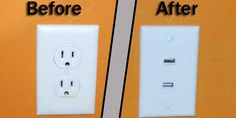 In-wall USB charger is as cheap as it is ingenious -- Engadget- we did this in the bedrooms and kitchen