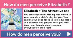 How do men perceive you?