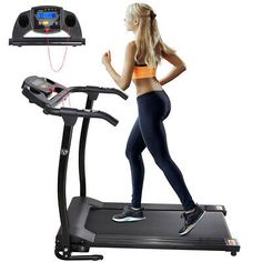 Electric Treadmill, Folding Treadmill, Running On Treadmill, Gym Training Program, Workout Programs, Small Exercise Bike, Home Gym Machine, Cardio At Home