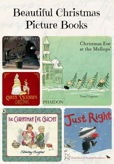 A list of beautiful Christmas picture books, perfect for bedtime