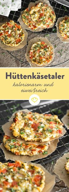 Juicy cottage cheese with three herbs - Low-Carb Rezepte - leicht & lecker - Low Carb Recipes, Vegetarian Recipes, Healthy Recipes, Pizza Recipes, Brunch Recipes, Easy Recipes, Salad Recipes, Queijo Cottage, Healthy Snacks
