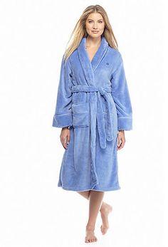Tommy Hilfiger® Short Plush Wrap Robe