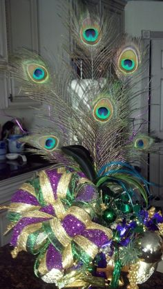 Mardi Gras arrangement