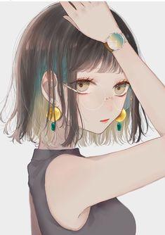 girl Anime pictures and wallpapers search Anime Neko, Kawaii Anime Girl, Anime Art Girl, Manga Anime, Pretty Anime Girl, Beautiful Anime Girl, Manga Girl, Naruto, Hinata