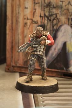 Infinity - Nomad Alguacil Infinity The Game, Figs, Scale Models, Diorama, Concept Art, Sci Fi, Lion Sculpture, Fantasy, Crafty
