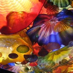 Glass work by Dale Chichuly