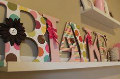 Resultados de la Búsqueda de imágenes de Google de http://www.babylifestyles.com/images/nursery/girly-pink-nursery-blayke/pink-girl-nursery-wall-letters.JPG