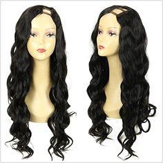 LUFFYWIG U Part Human Hair Wigs Left Part 1*4 U Opening C... https://www.amazon.com/dp/B01B16WSHO/ref=cm_sw_r_pi_dp_Z8EKxbEFX69Y6