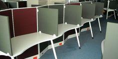 Línea Elka. Mobiliario especializado en Call Centers, enfocado en la privacidad de cada elemento! #MoberParaTi