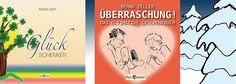 """Geschenktipp für unentschlossene Schenker Die Bücher """"Glück schenken - Jeden Tag einen Happen Glück"""" und """"Überraschung! - Das ultimative Geschenkbuch""""  sind zwei unserer schönsten Geschenkbücher. Ganz egal welches Buch Sie verschenken, Sie schenken immer Freude und bringen ein Lächeln in das Gesicht des Beschenkten.  Natürlich auch als eBook  Kaufen und weitere Informationen finden Sie hier. http://guteprodukte4u.net/   Der Pax et Bonum Verlag, wünscht Ihnen viel Spaß beim Freude bringen."""