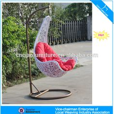 Wholesale U Outdoor garden furniture egg chair (CF1431H),$ 65.00 Outdoor FurnitureFabricGuangdong China (Mainland).Source from Foshan Ciao Furniture Co., Ltd. on Alibaba.com. Outdoor Garden Furniture, Egg Chair, Hanging Chair, China, Home Decor, Hammock Chair, Decoration Home, Room Decor, Yard Furniture