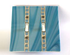 Decorative Switch Plate Covers Gold Stained Glass Dimmer | Stained ...