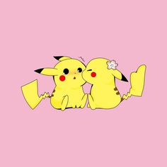 1eb71e14f Pokemon Pikachu Love Kiss Men's T-Shirt by Nykos - Cloud City 7 Cloud City