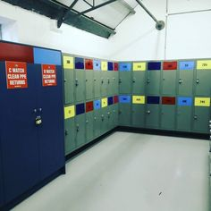 New locker room for turnout gear.