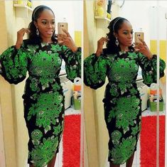 Latest ankara styles 2019 for ladies: check out Perfect and beautiful Ankara Styles For Wedding Party African Party Dresses, African Dresses For Women, African Attire, African Wear, African Fashion Dresses, African Women, Prom Dresses, Nigerian Fashion, Beautiful Ankara Styles