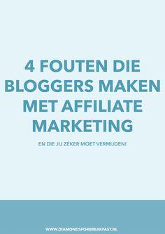 Met affiliate marketing kun je flink wat geld verdienen, máár dan moet je het wel goed doen! Deze 4 fouten moet je in ieder geval NIET maken.