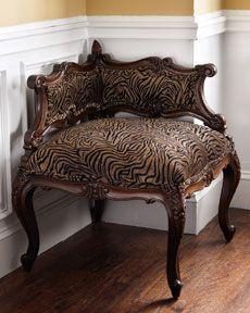"""Tiger"" Corner Chair"