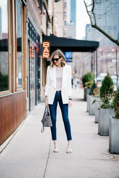 10 Easy-Breezy Summer Workwear Outfits | http://www.corporatefashionista.com/