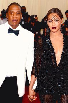 Beyonce & Jayz at the 2014 MET Gala