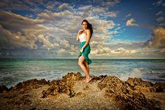 charisa: high fashion beach strobist | by kaunis hetki photography
