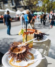 """It's feeling a lot like spring especially in San Diego!  Be sure to pick up some fresh sea urchin and mango chile lemonade!  @LittleItalyMercato - Every Saturday year-round Rain-or-shine from 8am-2pm on W. Cedar St. Between Kettner Blvd and Front St.  A certified farmers market in downtown San Diego! #visitsandiego #sandiego  Photo by 