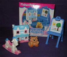 Fisher Price Loving Family Dollhouse Dream Dollhouse Playroom Set New Box | eBay