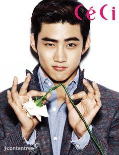 Taecyeon - Ceci Magazine December Issue '13
