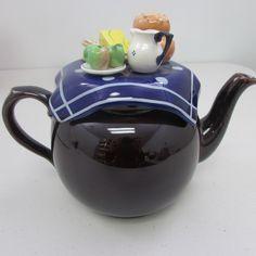 "RP:  Paul Cardew Brown Betty ""Ploughman's Lunch"" Collectible Teapot | eBay.com Ploughman's Lunch, Brown Betty, Chocolate Pots, Teapots, Collections, Coffee, Tableware, Ebay, Kaffee"