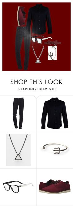 """""""Beginning to be dark"""" by lillianb21 on Polyvore featuring True Religion, Gucci, ASOS, Lacoste, Vans, Carrot & Gibbs, men's fashion and menswear"""