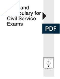 Math and Vocabulary for Civil Service Exams Civil Service Reviewer, English Exam, Math Sheets, Exam Study, Word Doc, Fractions, Rubrics, Mathematics
