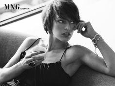 Short Hair #Milla #Jovovich