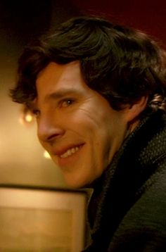If you pay close attention Sherlock only smiles when he is around John and Ms. Hudson. And I don't count the smirks he does while deducing. Those aren't smiles. I mean full on smiles. Come to think of it the one that gets me is the smile when he is thinking about saving Irene...