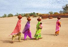 Even the barren has so many colors.... Thar desert, Sindh, Pakistan
