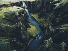 Fjaðrárgljúfur is a canyon in south east Iceland which is up to 100 m deep and about 2 kilometres long with the Fjaðrá river flowing through it. It is located near the Ring Road not far from the village of Kirkjubæjarklaustur. Daniel Casson [2048x1536]