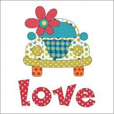 Love Bug - Applique