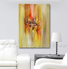 Hey, I found this really awesome Etsy listing at https://www.etsy.com/listing/200918780/art-painting-abstract-yellow-abstract
