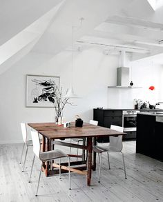 love these floors! via my unfinished home