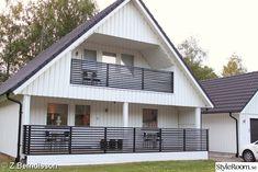 vitt hus,husfasad målad med demidekk 0502-y