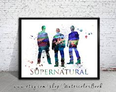 If only i had this..https://www.etsy.com/listing/207748201/supernatural-watercolour-painting-print