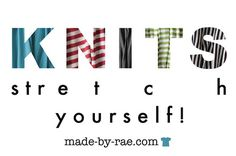 Made by Rae blog posts on sewing with KNIT fabrics.  Lots of links for her blog.