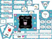 Owl Classroom Decor Pack product from Journey-of-a-Substitute-T on TeachersNotebook.com