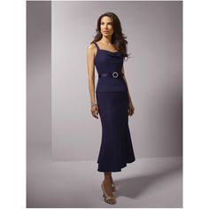 mother of the bride dresses | ... Purple Chiffon Tea Length Young Mother of the Bride Dresses himbafn7